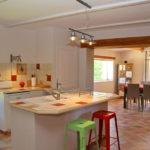 La cuisine et la salle-à-manger