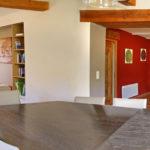 Le salon, la salle à manger et la cuisine